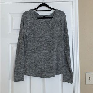 Reflex Open-back Sweater with Thumbholes